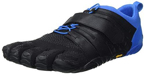 Vibram FiveFingers Men#039s VTrain 20 Fitness and Cross Training Shoe Black/Blue Numeric_13