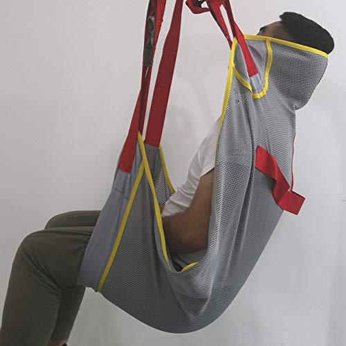 41zFd1vJmPL - Paciente Levantar Honda - Transferir Manta para Cama Posicionamiento Y Levantamiento - Grande Médico Dispositivo para Cuidador Mayor Discapacitado Cuerpo Completo Y Postrado En Cama