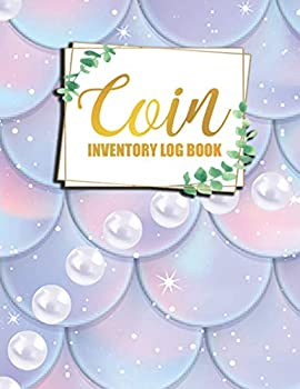 Coin Inventory Log Book  Coin Ledger Collectors Catalogue Logbook to Record and keep Track of your Coin Collection