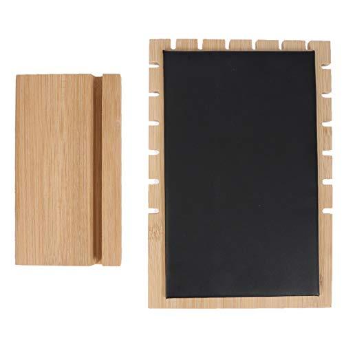 ジュエリースタンドディスプレイ、イヤリングネックレスブレスレット用木製ネックレスホルダーオーガナイザー(1#)