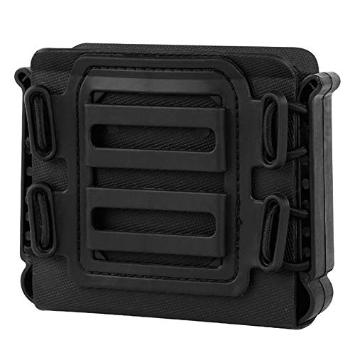FIRECLUB Tactical Magazine Pouches Soft Shell mag Carrier Holster with Molle and Belt Clip for ASW338 L96A1 Ares Mags Magazine
