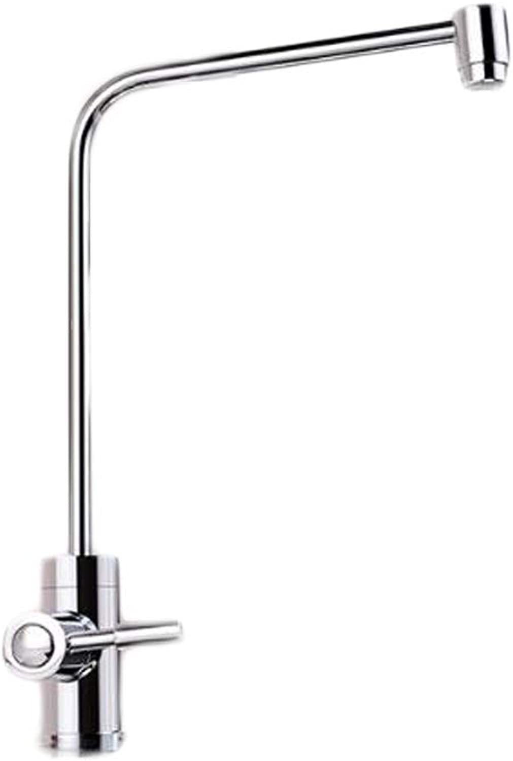 Haoyushangmao 360 Degree Swivel Good Valued Modern Cold Mixer, Stainless Steel Single Handle, Brushed Steel Kitchen Sink Faucet,Easy Inssizetion ,Brushed Kitchen Faucets The latest style, durable