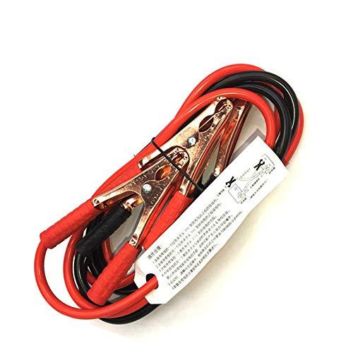 Cables de batería de puente 2M 500AMP 1800AMP CABLE DE BOSTERS EMERGENCIA PARA TERMINALES DE CAR VAN TERMINALES JUST STARTER LOADS PLAZAS DE COCHES CLIPS (Color : 500 AMP)