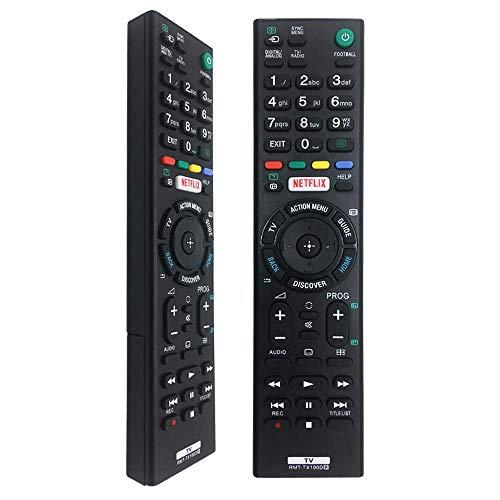 Nouvelle télécommande de Remplacement RMT-TX100D pour Les téléviseurs intelligents LCD de Sony, Sony Bravia RMT-TX100D RMT-TX100D RMT-TX101J RMT-TX102U RMT-TX102D