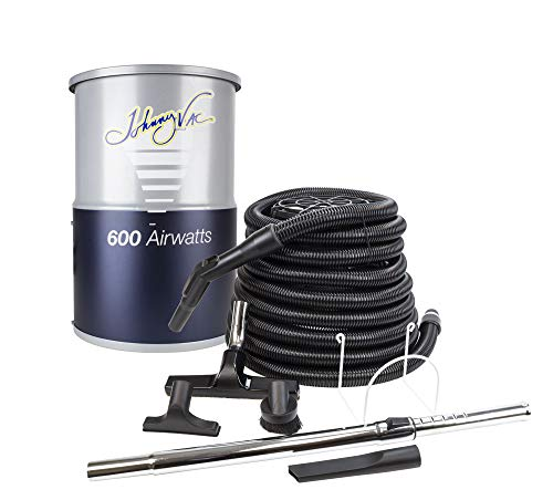 Compact central vacuum accessories perfectly designed small apartments, condos motor homes all the power a full size central vacuum - johnny vac jv600c30