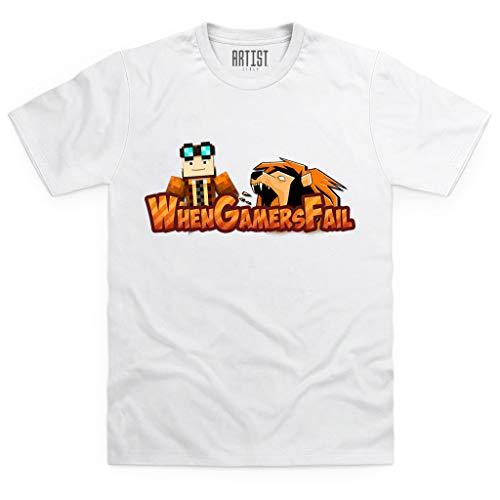 When Gamers Fail ARTIST Nuova T-Shirt Versione Horror Team WGF ...