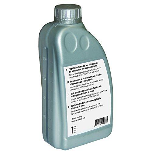 IDEAL 9000621 Spezialöl für Aktenvernichter, 1 L