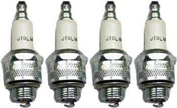 Champion J19LM-4pk Copper Plus Small Engine Spark Plug Stock # 861  4 Pack