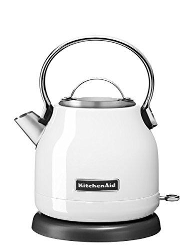KitchenAid CLASSIC Wasserkocher mit 1,25L Fassungsvermögen, 1.25 L, weiß
