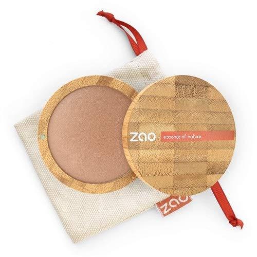 Zao Organic Makeup - polvere minerale cotto (Bronzer) Golden 341-0,53 oz di rame.