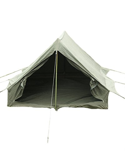 viz-uk wear French Army F1 Olive Drab Nylon 2 Men Tent With Groundsheet Pegs & Poles