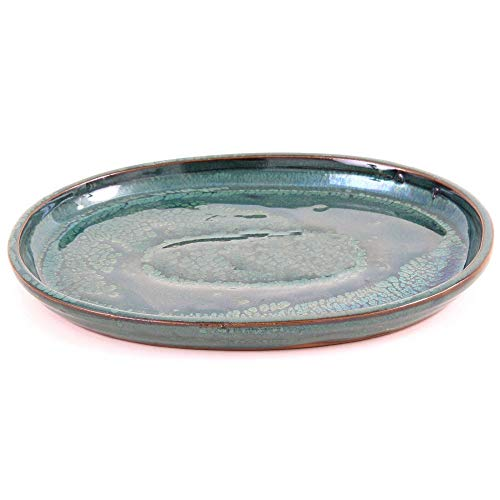 Bonsai - Untersetzer oval 21 x 17 cm, grün 54331