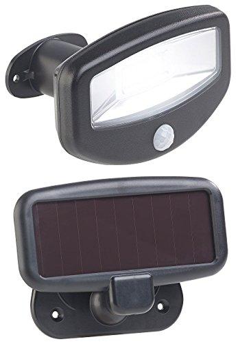 Lunartec Solar Iluminación Exterior: Solar-LED-Strahler, Sensor de Movimiento PIR, 16 Leds, 100 LM, 1,2 W, IP44 (Focos sin Electricidad)