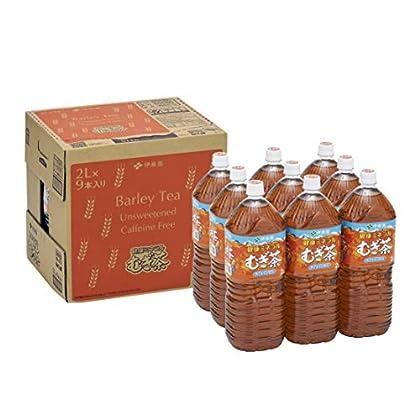 [Amazon限定ブランド] 伊藤園 RROボックス 健康ミネラルむぎ茶 2L×9本