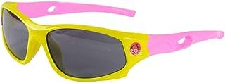 TYJYTM - Gafas de Sol polarizadas para niños súper Ligeras Gafas de Sol Deportivas para niños Protección UV400 Goma de Seguridad para Exteriores