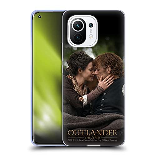 Head Case Designs Licenza Ufficiale Outlander Claire Jamie Bacio Stagione 4 Arte Cover in Morbido Gel Compatibile con Xiaomi Mi 11