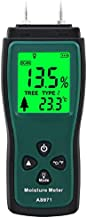 Two Pins Type Wood Moisture Meter, Moisture Humidity Tester with LCD Display, Range 2%~70%, Suitable for Measuring The Containing Water of Wood, Bamboo, Paper & Herbals