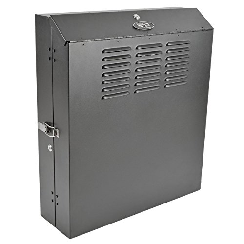 "Tripp Lite 6U Vertical Wall Mount Rack Enclosure Cabinet, Low Profile, Switch Depth, 20"" Deep (SRWF6U)"