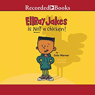 Ellray Jakes Is Not a Chicken audiobook cover art