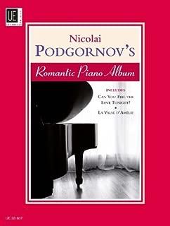 Nicolai Podgornov's Romantic Piano Album: v. 1 by Nicolai Podgornov (2011-01-01)