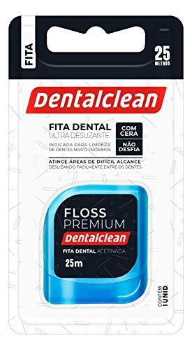 Fita Dental Floss Premium 25 metros, sabor menta Expansivo, Dentalclean