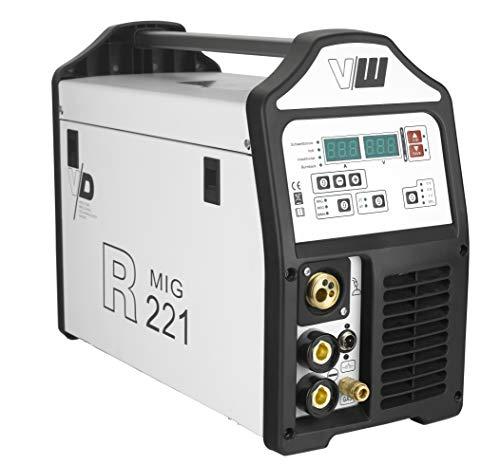 VECTOR Digital Schweißgerät DC MIG MAG R221 Drahtschweissgerät Inverter ARC MMA STICK Elektrode - 5KG