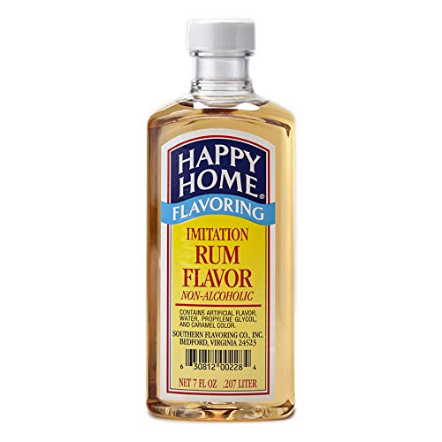 Happy Homes Flavors Rum 7 Ounce