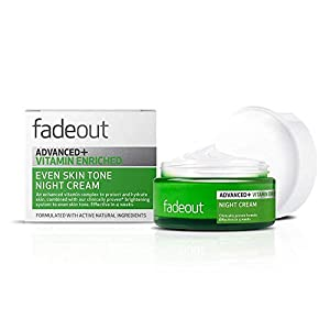 #MG FADE OUT Advanced Vitamin Enriched Night Cream SPF25 50ml -Clinically proven system evens skin tone , radiant and youthful complexion in just 4 weeks