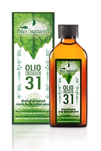 Vitamol Body oil with 31 medicinal herbs 100ml Bio naturell line