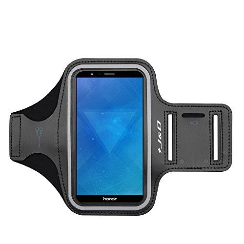 J&D Compatible para Huawei Honor 9X Pro/9X Lite/8A 2020/8X/7X/7C/V30/V30 Pro/9A Brazalete Deportivo para Correr, Ranura para Llaves, Conexión Auriculares Mientras Ejercicios y Carreras