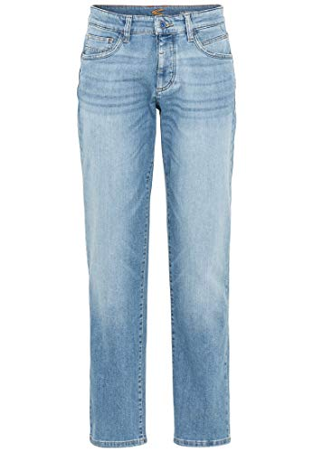 Camel Active Herren 5-Pocket Woodstock Bootcut Jeans, Blau (Mid Blue 41), W38/L32 (Herstellergröße: 38/32)
