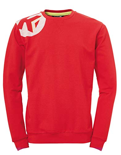 Kempa Erwachsene CORE 2.0 Training TOP Sweatshirt Pullover Oberbekleidung, rot, M