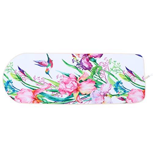 CLISPEED Capa para tábua de passar roupa cortando seu tempo de ferro reflexivo, serve para placas padrão e grandes, capa resistente premium estilo 1