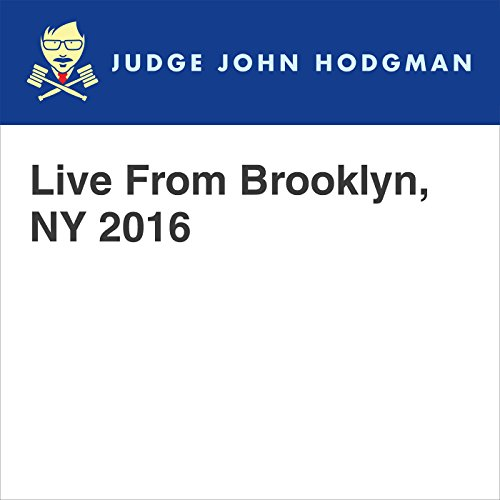 Live From Brooklyn, NY 2016 audiobook cover art