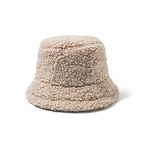 Sombrero de Cubo Unisex Graffiti Letter Mujeres Hombres Sombrero de Pescador de Pesca Otoo Invierno Gorra clida para Exteriores-01 Beige-One Size