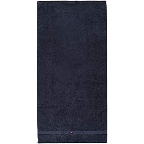 Plain Bath Towel 70x140cm, Navy
