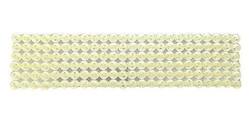 Japanese string button Bouton arrière diamètre 8 mm crème