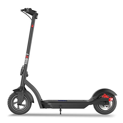 "Hiboy MAX3 Electric Scooter, 350W Motor 10"" Pneumatic Off Road Tires Up to 17 Miles & 18.6 MPH, Adult Electric Scooter for Commute and Travel"