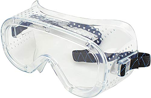 Neiko 53874A Protective Anti-Fog Safety Goggles with Wide-Vision,...