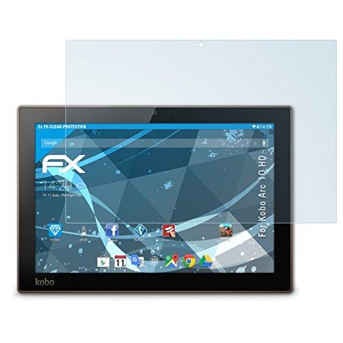 atFoliX Protezione Pellicola dello Schermo Compatibile con Kobo Arc 10 HD Pellicola Protettiva, Ultra-Trasparente FX Proteggi Schermo (2X)