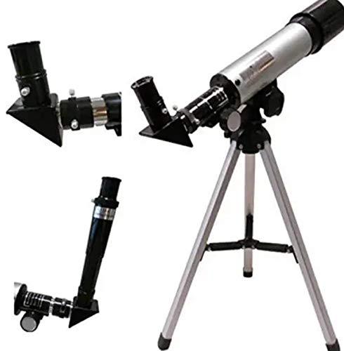 Hetkrishi 90X Astronomical Refractor Telescope Optical Glass Metal Tube
