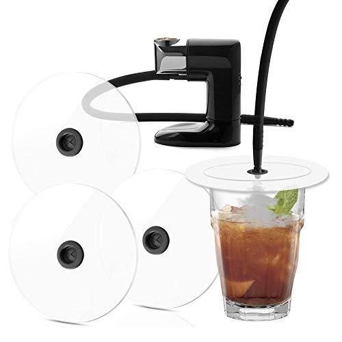 Discos ahumador para ahumador instantaneo para serrin para ahumar - Paquete de 3 discos ahumador , Diámetro 12 cm