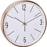 TFA Dostmann de Radio Reloj de Pared con Marco de Cobre, Cobre, 30x 4x 30cm