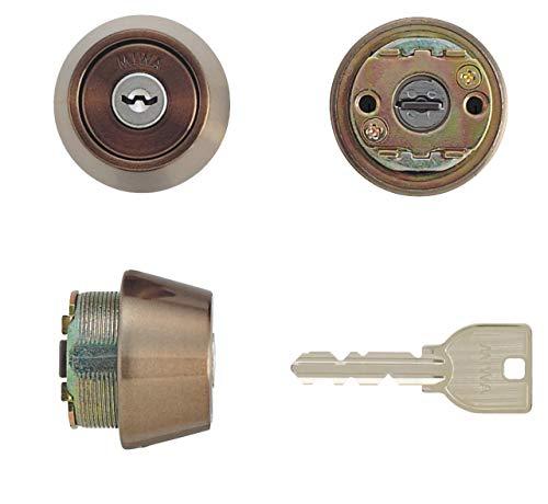 MIWA(美和ロック) U9シリンダー LSPタイプ TE22 鍵 交換 取替え MCY-137 LSP/SWLSPセラミックブロンズ色(CB)33〜42mm