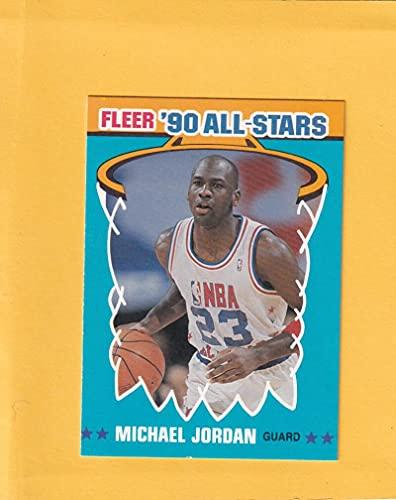 1990-91 Fleer All-Stars #5 Michael Jordan NM-MT Chicago Bulls