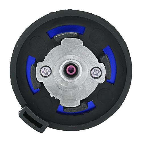 Adaptador de Estufa, Conector de Estufa de aleación de Aluminio, Acampar, Senderismo, Estufa al Aire Libre(Blue)