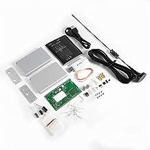 100KHz-1.7GHz Full-Band RTL-SDR USB Tuner Receiver + U/V Antenna DIY Kit Black