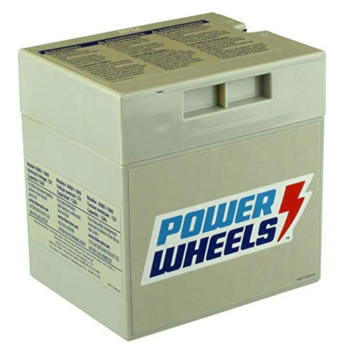 12V Battery for Hot Wheels Dune Racer W6201 & Other Power Wheels Fisher Price