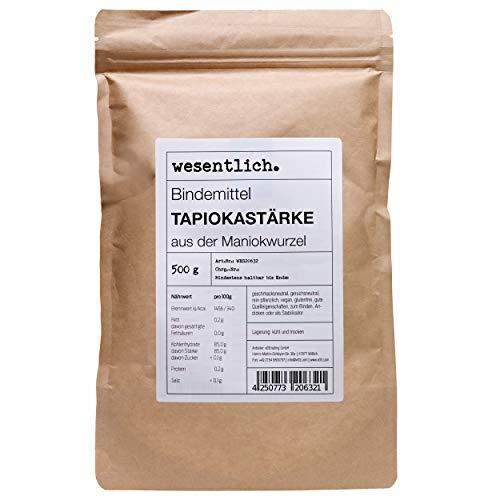 Tapiokastärke (500g) - im Standbodenbeutel von wesentlich