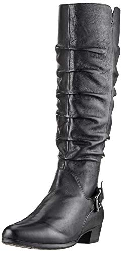 Gerry Weber Shoes Damen Carmen 20 Hohe Stiefel, Schwarz (Schwarz Mi20 100), 39 EU